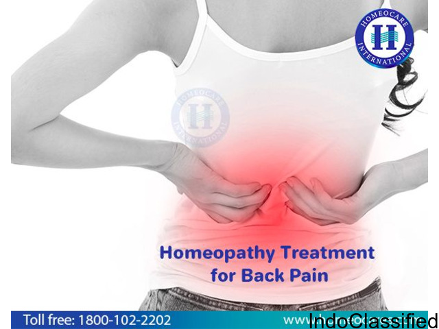 Having Back Pain Problem? Get Control with Homeopathy Treatment