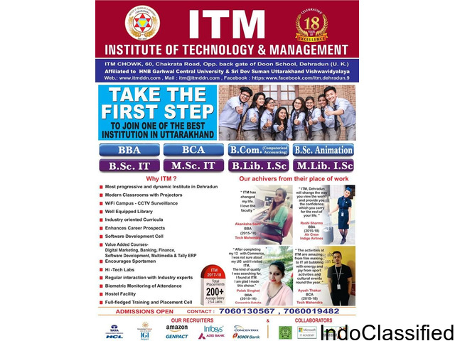 Best MSC IT colleges in Dehradun Uttarakhand