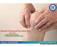 Alleviate From Joint Pain Through Homeopathy