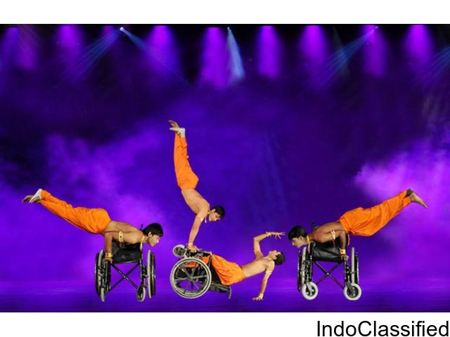 Dance On Wheelchair   AAMAD