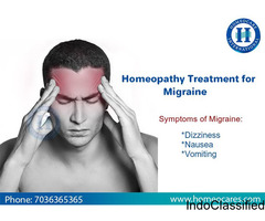 Get Relief From Migraine With Homeopathy in Masab Tank