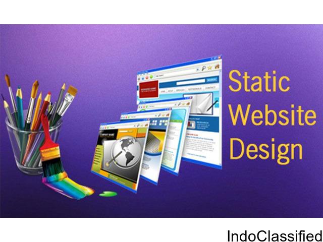 Static Website Development Company In India