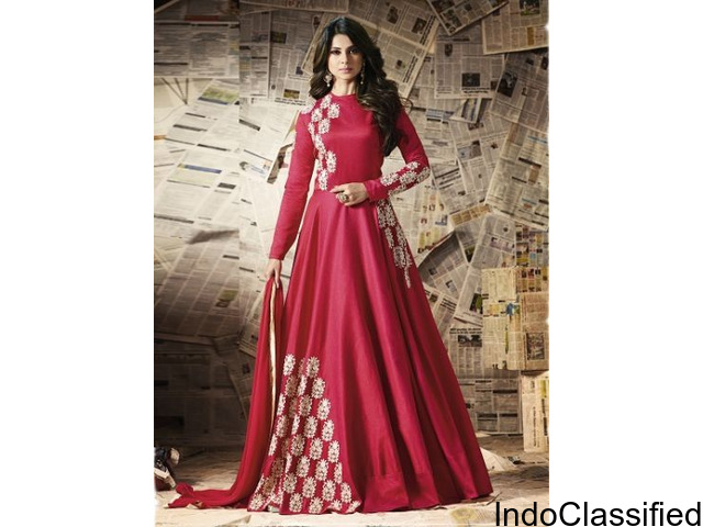 Anarkali Salwar Suit | Anarkali Suit | Yoyo Fashion