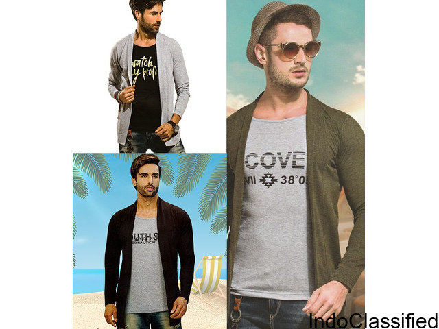 SHRUGs (with attached inner T-shirts) FREE delivery within 24 hrs. COD myindiamade.com / 7040679800