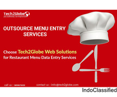 Restaurant Menu Entry Services