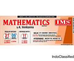 Best IAS Coaching Mathematics (Optional)