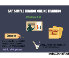 SAP S4 HANA Simple Logistics Training Courses in Pune, Hyderabad, Bangalore, Chennai India