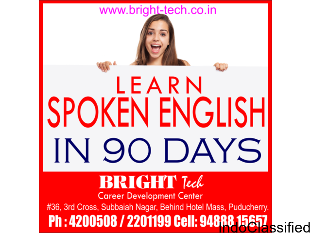 Learn English Language in 90 days at Bright tech