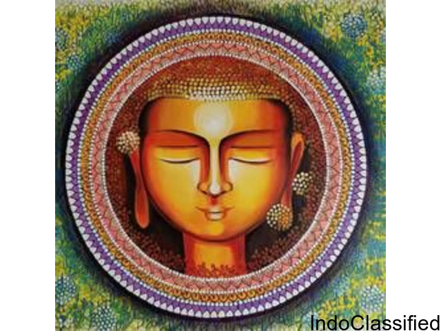 Buy Buddha painting & Buddha painting online from top Indian artist at Gallerist.in