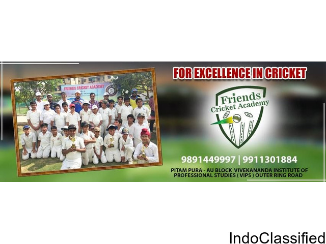 Cricket Academy in Delhi - Friends Cricket Academy