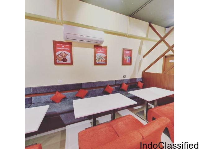 Cafe as co-working space