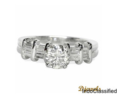 Diamond Engagement Ring by Djewels