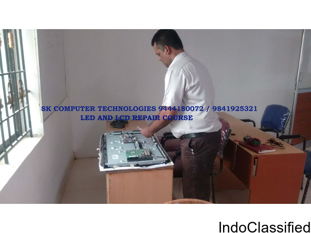 LED or LCD TV Repair Course Training SK Computer Technologies