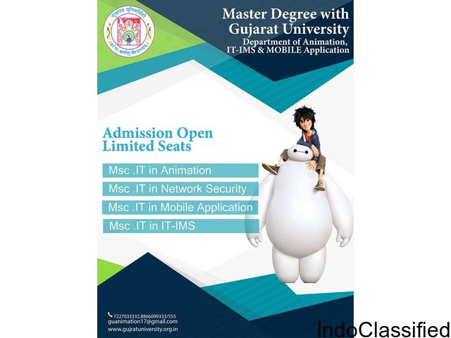 M.Sc. IT in Mobile Application Gujarat University