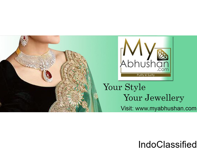 Pick Your Unique Jewelry Design at My Abhushan | Gold & Diamond Jewelry Online Shopping