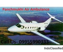 Get an Economical Fare Air Ambulance from Patna to Delhi by Panchmukhi