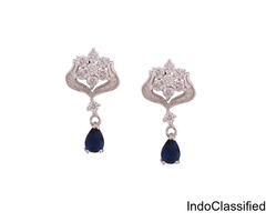CZ Earrings | Cubic Zirconia Earrings and Hoops
