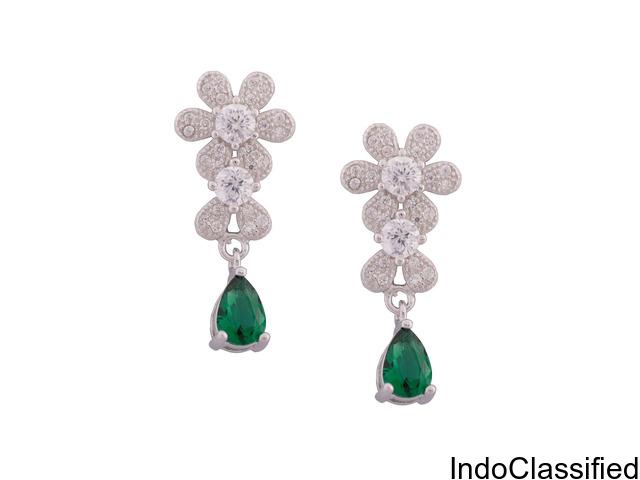 CZ Earrings | Cubic Zirconia Earrings and Hoops