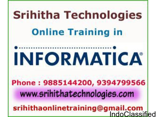Informatica Online Training Institute