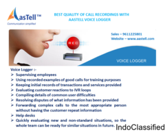 BEST QUALITY OF CALL RECORDINGS WITH AASTELL VOICE LOGGER