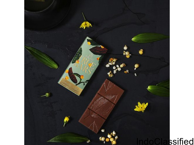 Buy Caramel Crunch Chocolate Bar Online in Bangalore – Smoor Chocolates