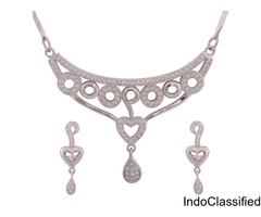 CZ Necklace | Cubic Zirconia Necklace