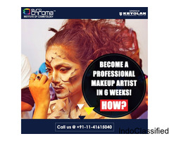 Best Makeup Artist Course in Delhi-Euro Chroma Institute of Cosmetology