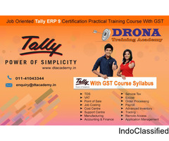 Tally ERP 9 with GST course