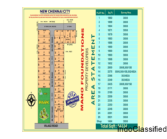 DTCP approved plots for sale in Guduvanchery