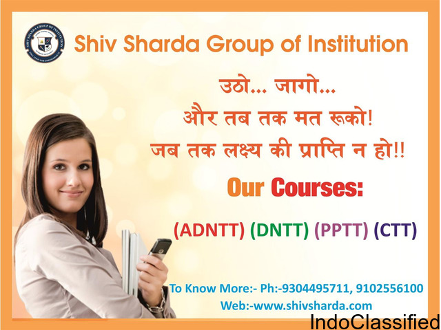 Nursery Teacher Training Shiv Sharda Group Of Institution