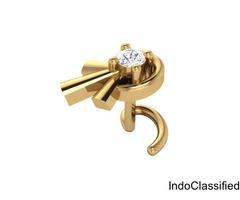 Diamond Nose Pin - Buy Online Diamond Nose Pins