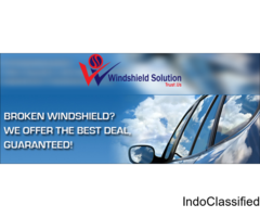 windshield chip repair @Windshield solution