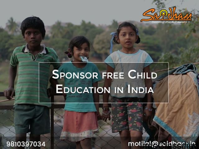 Sponsor free Child Education in India