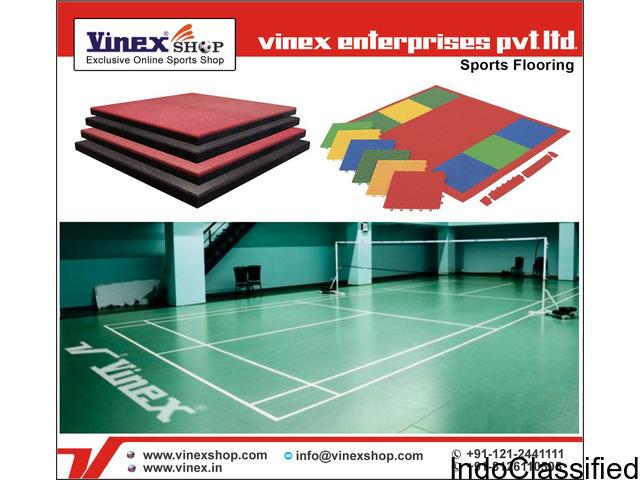 Sports, Badminton, Rubber Flooring Tiles Manufacturer in India