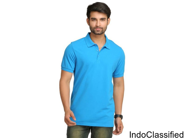 T-shirt | Logo Tshirt Manufacturer | Collar Cotton T-shirt In In Noida (UP)