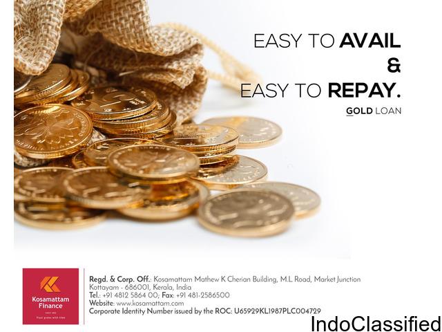 Top Gold Loan Companies in India Kosamattam Finance