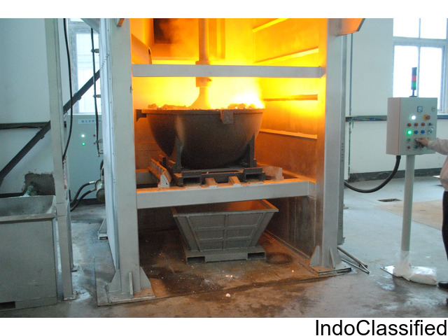 Aluminium hot and cold dross processing machine supplies