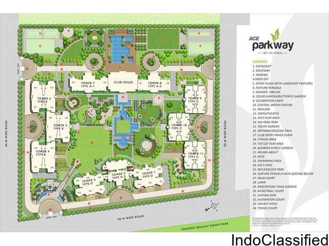 Luxurious Home @52 Lakh in Ace Parkway Sector-150 Noida