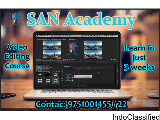 Video Editing Course in Thanajavur easy just 3 weeks