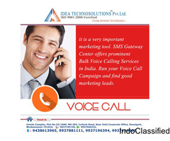 Voice call service in Bhubaneswar