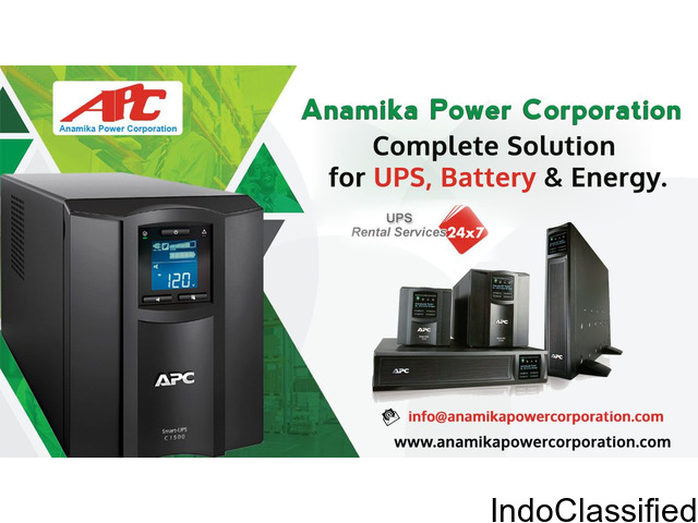 BEST UPS SERVICES ON RENTAL IN INDIA