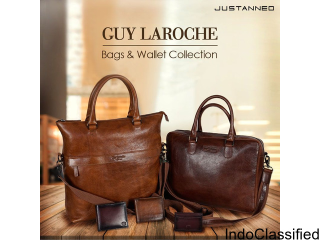 Leather Bags on a Budget only on Justanned
