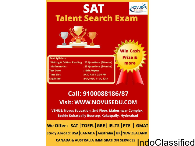 SAT Talent Search Exam