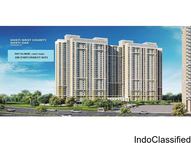 Dosti West County For Luxurious 1 BHK, 2 BHK and 3 BHK Apartments