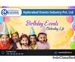 Birthday Party Organizers & Balloon Decorators in Hyderabad