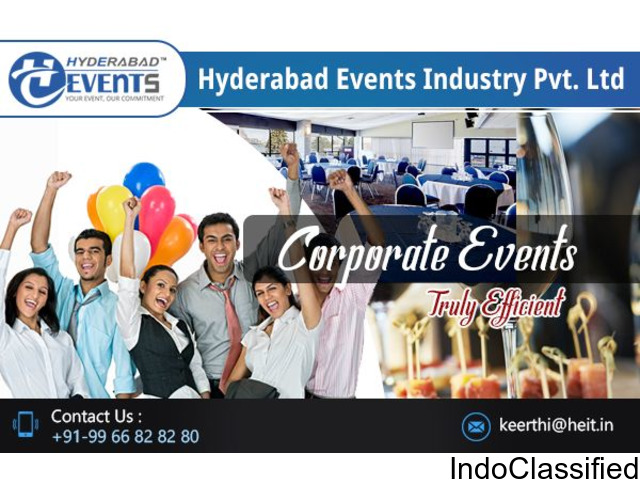 Corporate Event Planners & Event Organizers in Hyderabad
