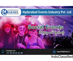 Social Event Planners & Organizers in Hyderabad | Hyderabad Events