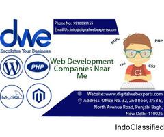Web Development Companies Near Me