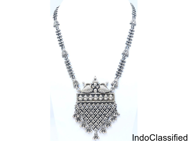 Antique Oxidized Necklace