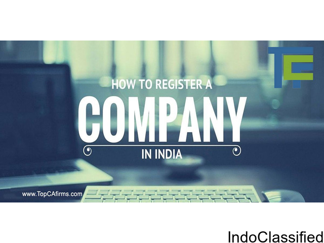 online company registration in india - TopCAfirms
